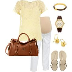 Casual Friday Maternity Fashion #Classic design.#Casually Cool!!!#