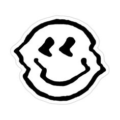 Face Stickers, Cool Stickers, Rick Und Morty, Face Aesthetic, Emo Anime Girl, Image Deco, Black And White Stickers, Sad Faces, Sketch Inspiration