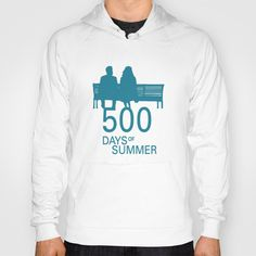 500 Days of Summer Poster Hoody by Misery - $38.00