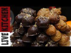 #3 Μελομακαρονα!!! Κλασικά & με Σοκολάτα-Christmas recipe(Melomakarona) - YouTube Kitchen Living, Cereal, Cookies, Breakfast, Youtube, Food, Live, Crack Crackers, Morning Coffee
