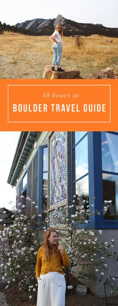 48 Hours in Boulder travel guide!  The BEST tips for your visit to Boulder! http://whimsysoul.com/48-hours-boulder-travel-guide/