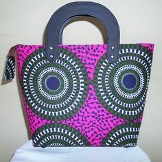 Sac akissi : sac en wax ( pagne africain )