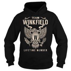 (Tshirt Suggest Deals) Team WINKFIELD Lifetime Member Last Name Surname T-Shirt Discount Hot Hoodies Tees Shirts