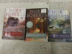 Nora Roberts- the Cousins O' Dwyer trilogy