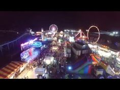 Drone Footage From The Horry County Fair In Myrtle Beach Myrtlebeach Videos