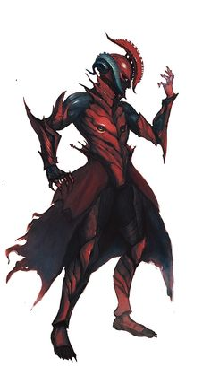 Realy cool red anc black fantasy armour