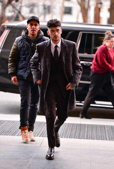 Zayn out and about in New York City on January Zayn Malik Style, Zayn Malik Photos, Rebecca Ferguson, Liam Payne, One Direction, Louis Tomlinson, Harry Styles, Zany Malik, Bad Boys