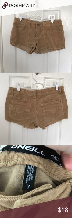 O'Neil shorts Corduroy shorts. Perfect condition. Worn once O'Neill Shorts