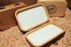 Niezwykły pomysł na prezent - piękne, ręcznie wykonane z drewna pudełko na przynęty i akcesoria wędkarskie. #wędkarstwo #akcesoria #prezenty #rękodzieło #handmade