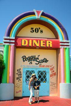 Route 66. Peggy Sue's