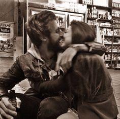 Beard kiss :)