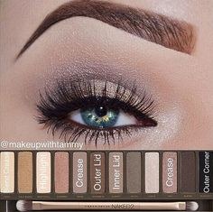 Makeup tutorial with Naked 2
