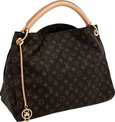 Ahhhh my mom just got this... Louis Vuitton Classic Monogram Canvas Artsy MM Shoulder Bag