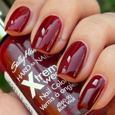 Wearing this right now ------ Sally Hansen Hard as Nails Xtreme Wear, 90 Brick Wall