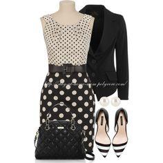 Black & White Polka Dots & Stripes