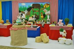 Farm, Barnyard Birthday Party Ideas | Photo 1 of 17