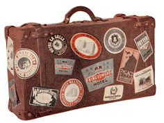 Thursday is Request Day - Vintage Luggage, Child Baking, Grand Bed, Table - The Graphics Fairy