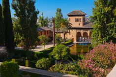 Alhambra Palace, Granada, Spain - Download From Over 58 Million High Quality Stock Photos, Images, Vectors. Sign up for FREE today. Image: 8113557