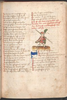 Konrad <von Ammenhausen>: Schachzabelbuch - BSB Cgm 1111, [S.l.] Elsass, 1414 [BSB-Hss Cgm 1111]