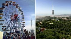 Tibidabo Tourism in Barcelona - Next Trip Tourism Barcelona Tourism, Spain Tourism, Barcelona Hotels, Barcelona Apartment, Travel Information, Cool Watches, Fair Grounds, Around The Worlds, Museum