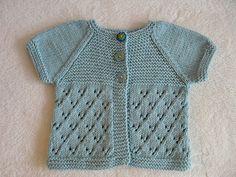 Ravelry: Daisy Cardigan pattern by schneckenstrick. Newborn to 2 years