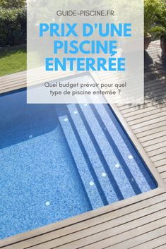 Prix Construction, Guide, Patio, Outdoor Decor, Home Decor, Pools, Pool Prices, Building A Swimming Pool, Swim