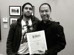 Antony Starr & Hoon Lee #banshee