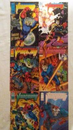 Vanguard Images #1-6 VF/NM complete series comic books Image Comics