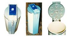 Tardis vacuum operated rubbish compactor