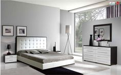 Shop for Luxurious Modern Bedroom Furniture Sets and Beautiful Contemporary Bedroom Furniture Sets in Boca. Bedroom Sets, Esf Furniture, Bedroom Cupboard Designs, Luxurious Bedrooms, White Bedroom Set, Modern Bedroom Decor, Bedroom Dresser Sets, White Gloss Bedroom, Modern Contemporary Bedroom Furniture