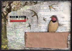 Mail Art by Fiddlesnips!, via Flickr