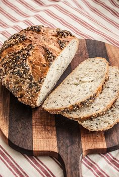 A few simple ingredients, no experience required for most amazing and beautiful bread you've ever made. You will be delighted by how truly easy it is to make this heavenly chewy, crispy crust, no-knead seed bread.