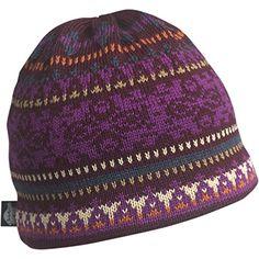 Turtle Fur - Women's Star Shine, Classic Wool Knit Ski Hat Beanie