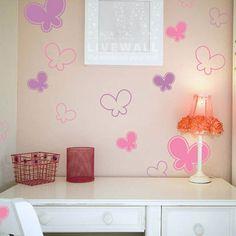Αυτοκολλητα τοιχου - Πεταλουδίτσες - Baby Butterflies