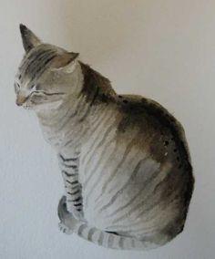 Morrocan Cat by kaymcdonagh on Etsy