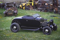 30-31 roadster- not sure about the running boards left on the car, but that's me.
