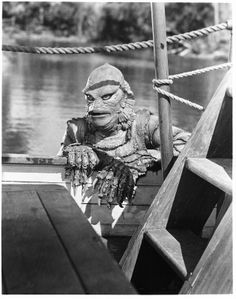 from the Creature from the Black Lagoon ... the beast seeks his beauty.