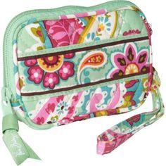 Women's Wristlet Handbags - Vera Bradley Tech Case Tutti Frutti * Click on the image for additional details.