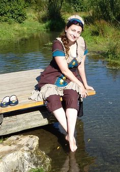 Steampunk swimwear