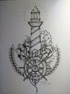 tattoo lighthouse - Google-Suche