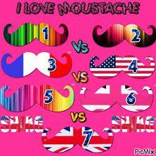 """Résultat de recherche d'images pour """"moustache swag rose"""""""