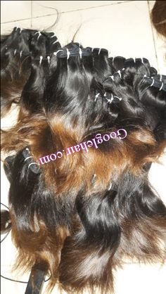 Hair Styles Ombre Hair Extensions Human Hair High Quality Only in Vietnam