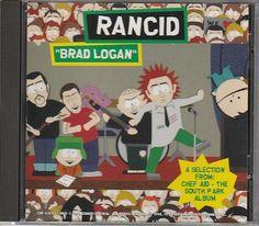 Rancid SOUTH PARK Brad Logan Rare Promo Only CD Single
