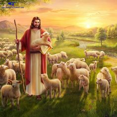 The Parable of the Lost Sheep: Jesus' Will Behind the Parable. The Lord Jesus' each word carries God's disposition and manifests the identity of God. Watch it now to learn about the mystery within the parable of the lost sheep. Jesus Christ Painting, Jesus Art, Jesus Wallpaper, Jesus Our Savior, Jesus Is Lord, Image Jesus, Jesus Photo, Première Communion, The Lost Sheep