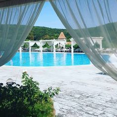 Behind the courtains we are preparing some awesome news regarding the opening of the outdoor pool. Outdoor Pool, Relax, Curtains, Explore, News, Awesome, Home Decor, Outdoor Swimming Pool, Insulated Curtains