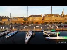 ▶ HD DRONE ST MALO ROUTE DU RHUM - YouTube