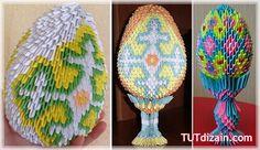 "Origami Easter Egg ""Planet crafts"