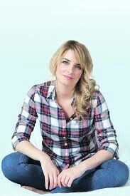 Emma - the sun newspaper Emma Atkins, Emmerdale Actors, Soap Stars, Aesthetic Pictures, Charity, Plaid, Actresses, Soaps, Tartan