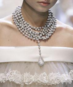 Wrap around diamond necklace!