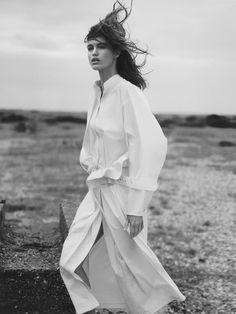 Photo Luna Bijl by David Sims for Joseph S/S 2017